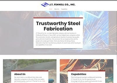 J.T. Fennell Co Website