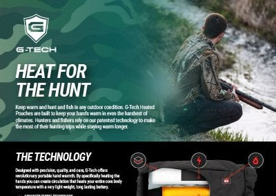G-Tech Apparel Hunting and Fishing One Sheeter