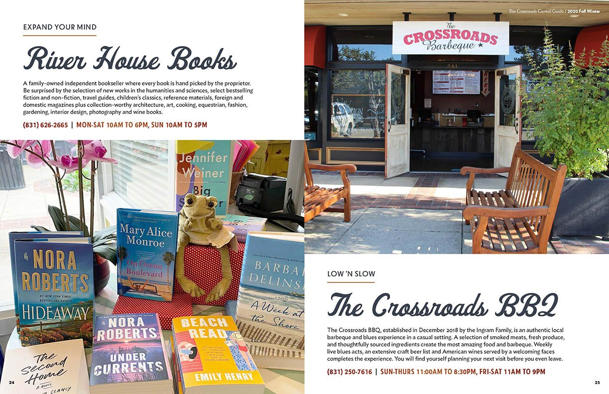 The Crossroads Carmel Fall into Winter 2020 Guide Firebrand Design & Business Solutions in Safety Harbor, FL
