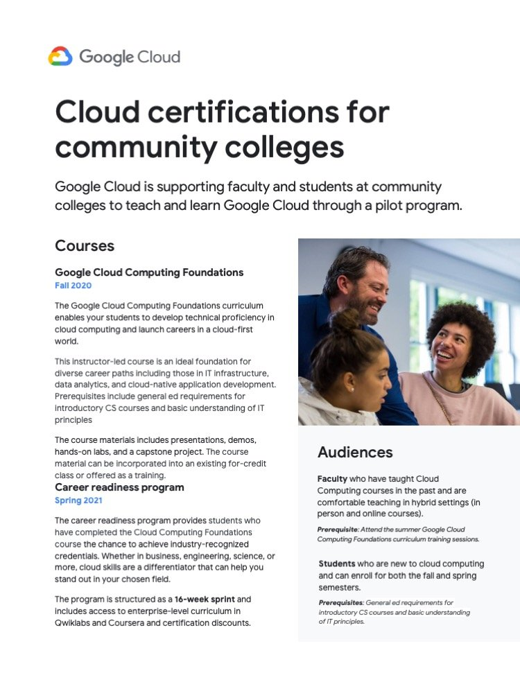 Google Cloud Certifications one sheeter Firebrand Design & Business Solutions in Safety Harbor, FL