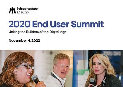 Infrastructure Masons End User Summit 2020 Brochure